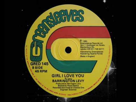 """Barrington Levy - Girl I Love You 12"""" (B)1984"""