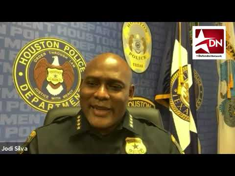 New HPD Chief Troy Finner discusses community help with the Defender's ReShonda Tate Billingsley.