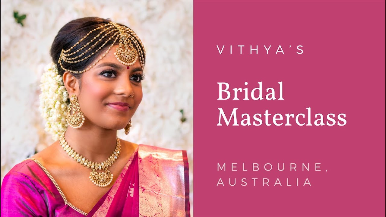 Melbourne Masterclass | Vithya Hair and Makeup Artist