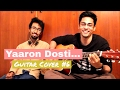 Download Yaaron Dosti Badi Hi Haseen Hai | Guitar Cover #6 | Pratyasha The Band MP3 song and Music Video