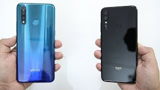 vivo Z1 Pro Vs Redmi Note 7 Pro SpeedTest And Camera Comparison