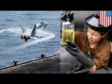 U.S. Navy reveals new renewable energy technology that turns seawater into jet fuel
