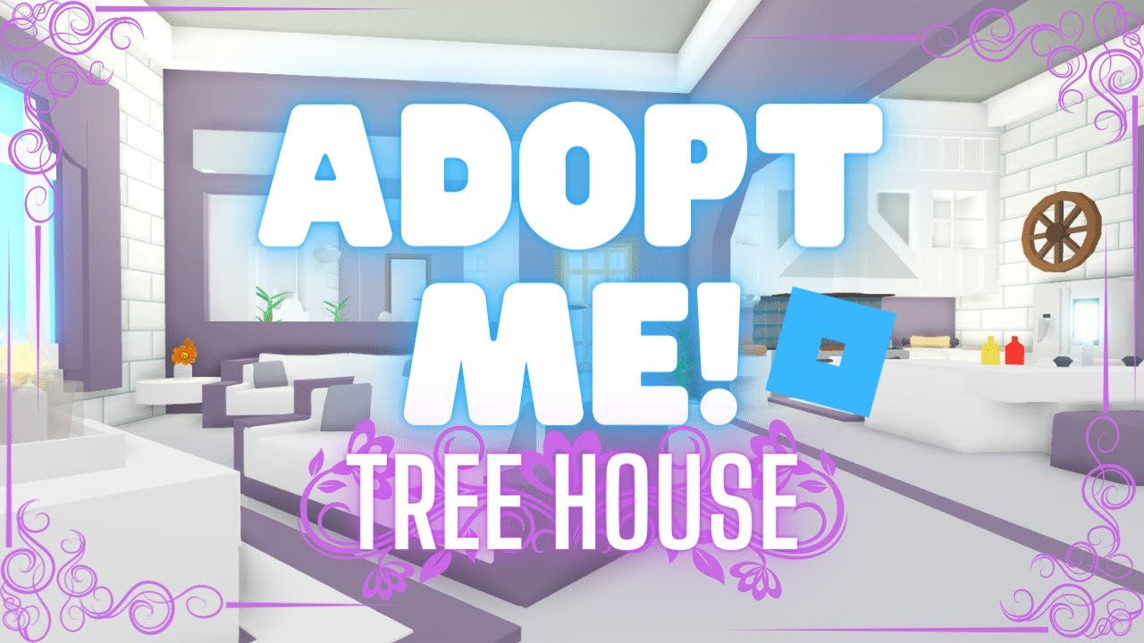 Adopt Me Treehouse Decorating Ideas Build With Madam Madhouse Youtube