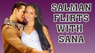 BIGG BOSS 6 - Salman Khan FLIRTS with Sana Khan - UNCENSORED !!!