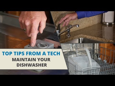 top-tips-from-a-tech:-dishwasher-maintenance-tips