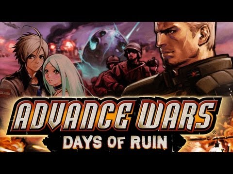 CGR Undertow - ADVANCE WARS: DAYS OF RUIN review for Nintendo DS