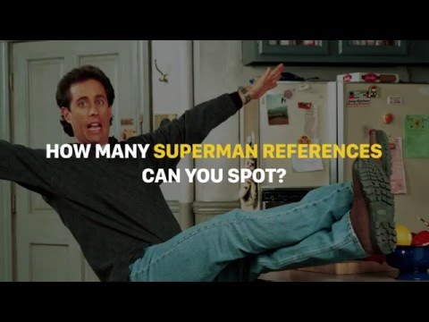 Does Seinfeld Mention Superman in Every Video?