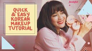 Quick Korean Makeup Tutorial ala Sasyachi