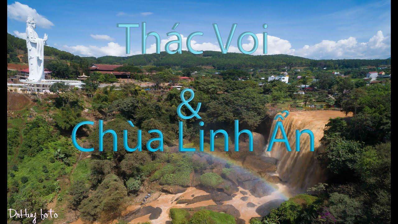 Thác Voi- Linh Ẩn tự   Discovery Đà Lạt    Vẻ đẹp Việt Nam 