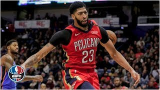 Anthony Davis dominates with 44 points in Pelicans' win vs. Thunder | NBA Highlights