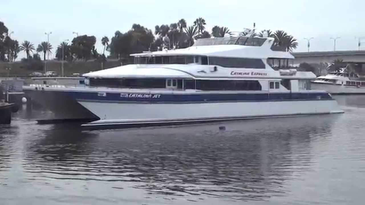 Catalina Express Departing Long Beach