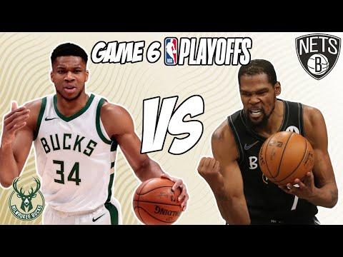 Milwaukee Bucks vs Brooklyn Nets Game 6 6/17/21 NBA Playoff Free NBA Pick & Prediction