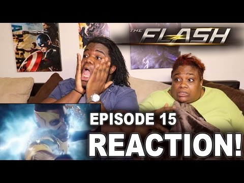 The Flash Season 3 Episode 15 : REACTION WITH MOM!