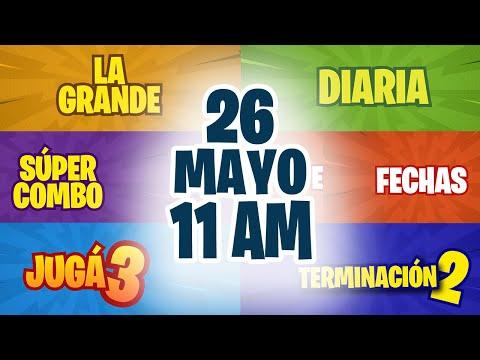 Sorteo 11 AM Loto Diaria, Fechas, Jugá 3 y Súper Combo Miércoles 26 de Mayo de 2021 | Nicaragua