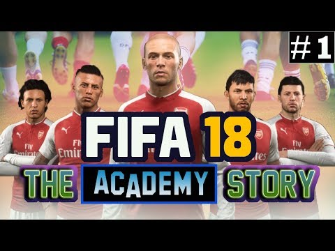 FIFA 18 - The Academy Story - The Season Starts - Episode 1 S3