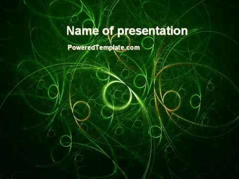 Green abstract lines powerpoint template by poweredtemplate green abstract lines powerpoint template by poweredtemplate toneelgroepblik Choice Image