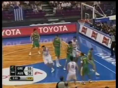 2006 FIBA World Champs Tall Blacks vs Japan - Group B - 23rd August
