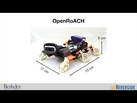 OpenRoACH: An open-source small hexapedal robot with onboard ROS