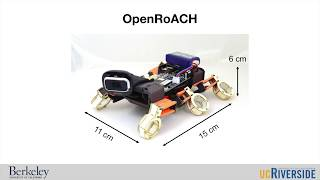 ICRA 2019, OpenRoACH: An open-source small hexapedal robot with onboard ROS