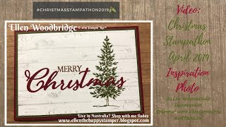 Lovey As A Tree, Hardwood and Merry Christmas to All April Christmas Stampathon 2019