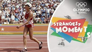 The Most Incredible Fiฑal Lap in Olympic Marathon History | Strangest Moments