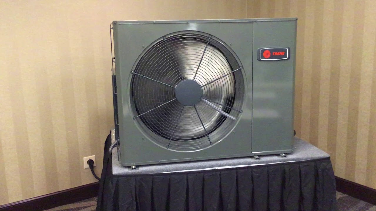 Trane's Ultra Quiet XV19 Side Discharge Heat Pump by Gensco