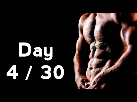 30 Days Six Pack Abs Workout Program Day: 4/30