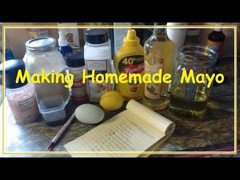 Making Homemade Mayo