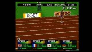International Track & Field 2000 PlayStation