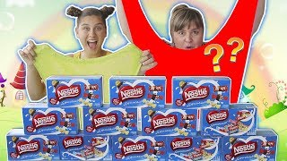 NÃO ESCOLHA O CHOCOLATE ERRADO DE SLIME - DON'T CHOOSE THE WRONG CHOCOLATE SLIME CHALLENGE