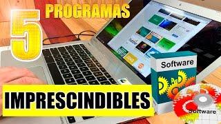 5 Programas utiles para Windows 10/8/7 Gratis en español