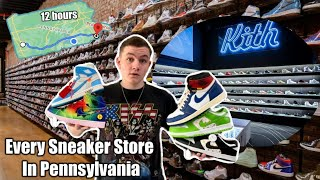 I Bought Shoes At Every Sneaker Store In PA!
