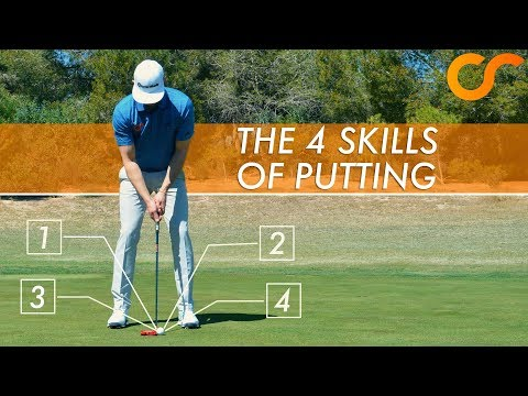 LEARN THE 4 SKILLS OF PUTTING
