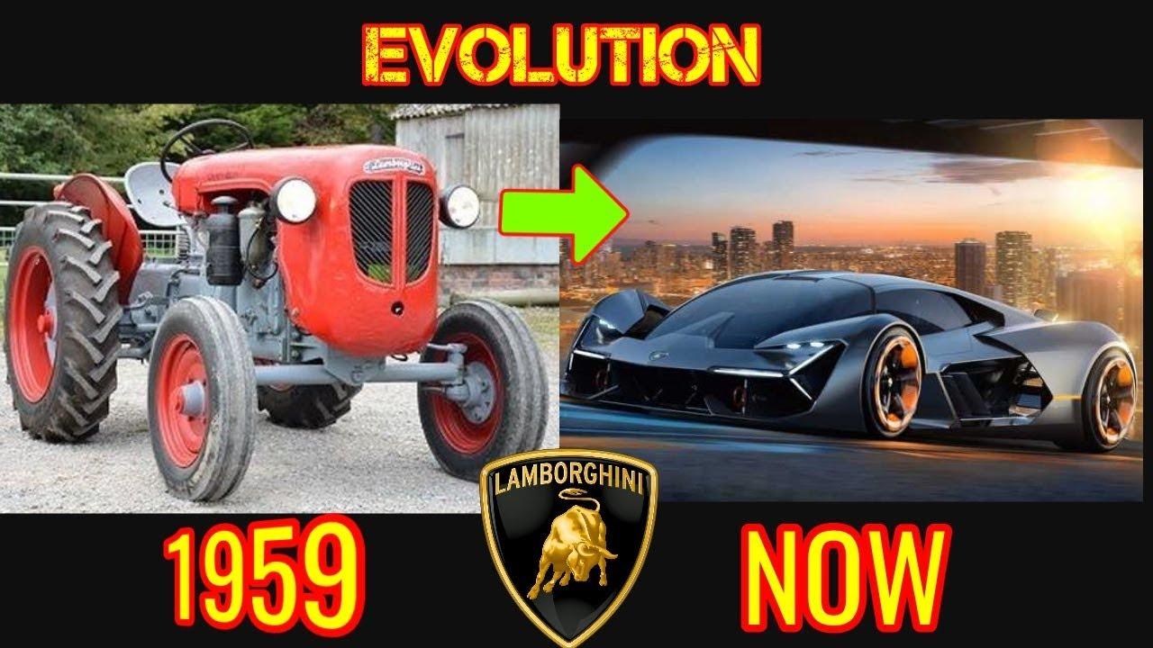 History Of Lamborghini Evolution 1959 2018 Youtube