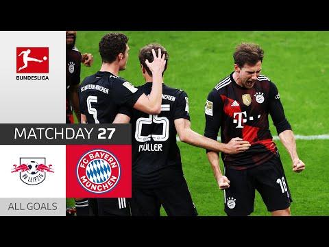 Goretzka decides close Top-Game!   RB Leipzig - FC Bayern München   0-1   All Goals   Matchday 27