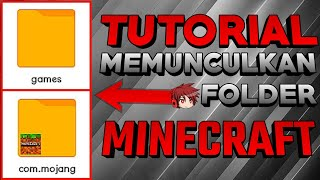Cara Memunculkan Folder Games/com.mojang   Minecraft Tutorial