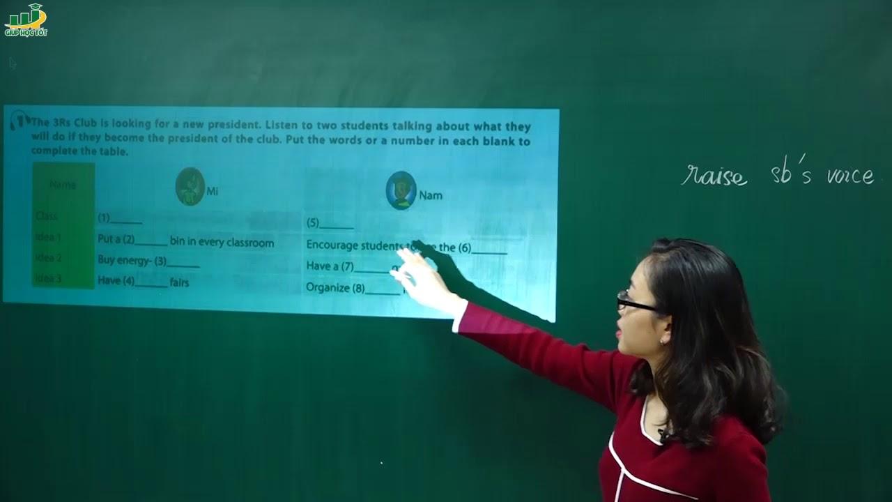 Tiếng Anh lớp 6 – Lesson 6 Skill 2 trang 55 Unit 11 SGK tiếng anh 6 mới| Cô Hoàng Hồng Nhung