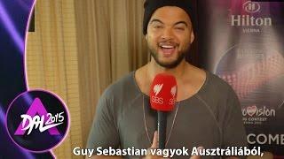 Az ausztrál Guy Sebastian üzenete a magyaroknak