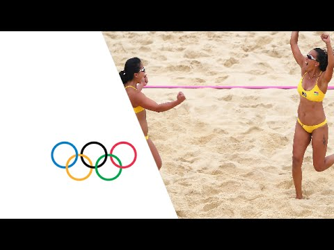 Women's Beach Volleyball Pool A - GER v MRI | London 2012 Olympics