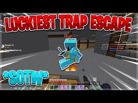 luckiest-way-out-of-getting-trapped!-(duo-series)- -minecraft-hcf