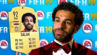 10 Footballers ANGRY at their *NEW* FIFA 19 Ratings! (Ronaldo, Salah & Messi)