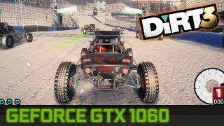 Dirt 3 - GTX 1060 3GB FX 6300 Benchmark