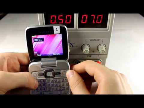 TechnoCrash#42 Alcatel OT-808 Providing the phone with incorrect power911