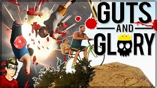 EXISTENCE IS PAIN - Guts and Glory! (3D Happy Wheels)