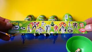 Super Surprise Eggs Gift Set Ultimate Spiderman Marvel BEN10 Easter Eggs by Disneycollecto