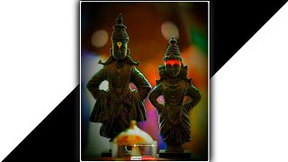 New Vittal Rukmini status video 2021   Tuzya Vina Vaikunthacha karbhar chale song status video 🙏🌺🌸🥀