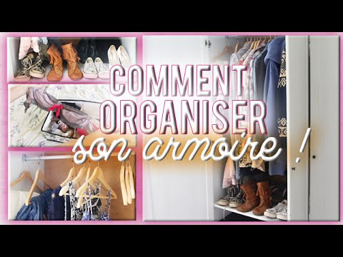 [ Conseils N°4 ]  Comment Organiser Son Armoire ! ♡  Youtube