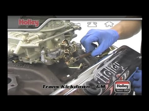 Setting The Transmission Kickdown On TH-350, TH400, And 700R4