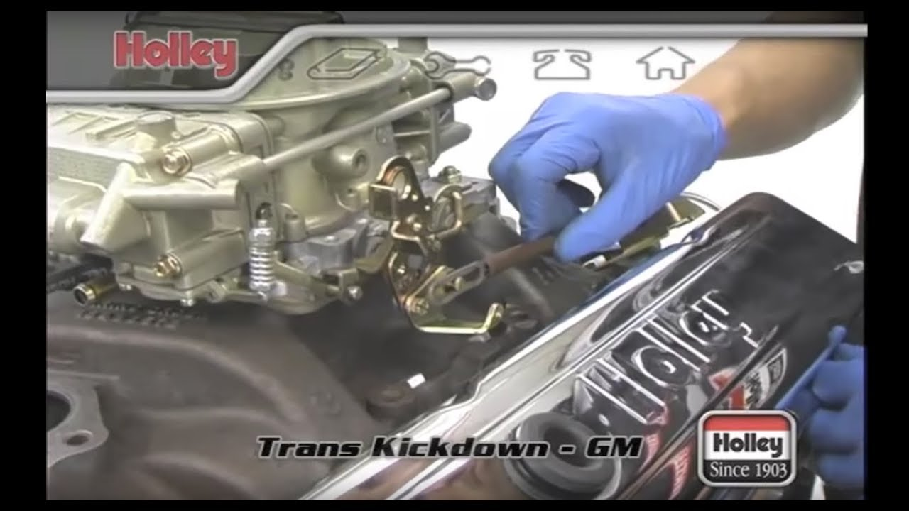 hight resolution of setting the transmission kickdown on th 350 th400 and 700r4