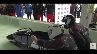 Justin Kripps wins bobsleigh gold in Lake Placid World Cup | CBC Sports
